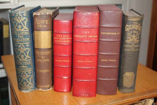 Mark Twain First Editions and signed editions