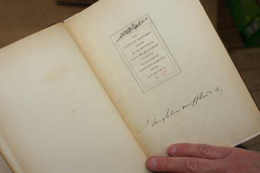 Manuscript edition of the Works of Emerson